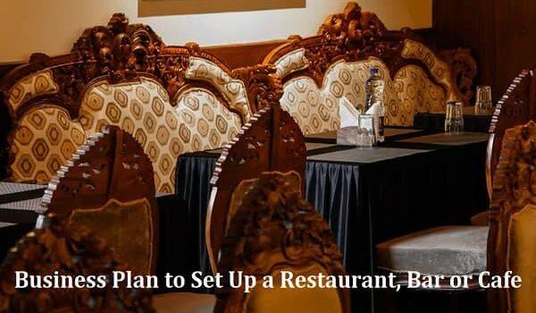 Business Plan to Set Up a Restaurant