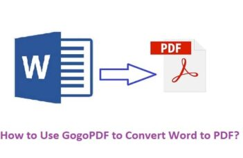 How to Use GogoPDF to Convert Word to PDF