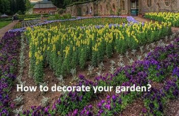 How to decorate your garden