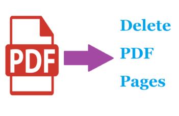 Delete PDF Pages